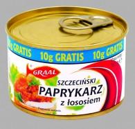 paprykarz szczeciński z łososiem 165g