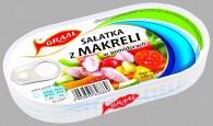 sałatka z makreli w pomidorach 170g