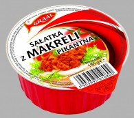 sałatka z makreli pikantna 130g