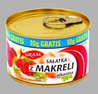 sałatka z makreli pikantna 165g