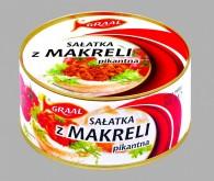 Sałatka z makreli pikantna 300g