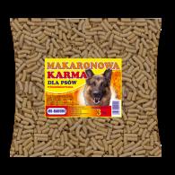 Makaronowa karma dla psów