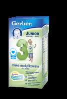 Mleko Gerber 3 Junior modyfikowane dla dzieci powyżej 1. roku