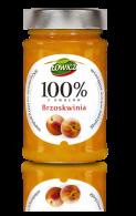 brzoskwinia dżem 100%