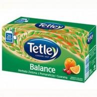 Herbata Zielona z Pomarańczą i Guaraną 25 torebek