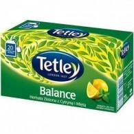 Herbata Zielona z Cytryną i Miętą 20 torebek