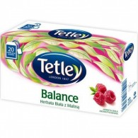 Herbata Biała z Maliną 20 torebek
