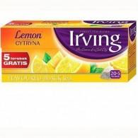 Herbata czarna cytrynowa 20 torebek + 5 gratis
