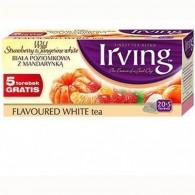 Herbata biała poziomkowa z mandarynką 20 torebek