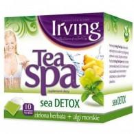Herbata zielona z algami morskimi Sea Detox Tea Spa 10 torebek