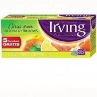 Herbata zielona cytrusowa 20 torebek + 5 gratis