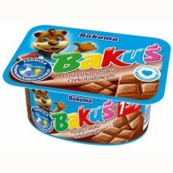 Bakuś Serek puszysty o smaku czekoladowym