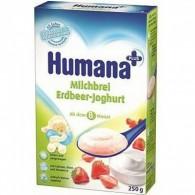 Kaszka mleczno-ryżowa z jogurtem i truskawkami - od 8 miesiąca