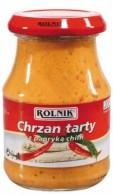 Chrzan tarty z papryką chilli