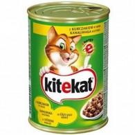Pokarm dla kotów z kurczakiem w sosie