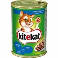 Pokarm dla kotów z makrelą w sosie