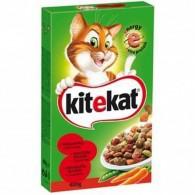 Sucha karma dla kotów z wołowiną i warzywami
