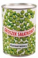 Groszek sałatkowy konserwowy