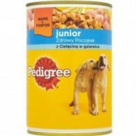 Junior Pokarm dla psów z cielęciną w galarecie