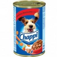 Pokarm dla psów z wołowiną i marchewka w sosie