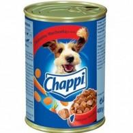 Pokarm dla psów z wołowiną i marchewką w sosie