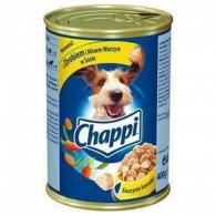 Pokarm dla psów z drobiem i marchewką w sosie