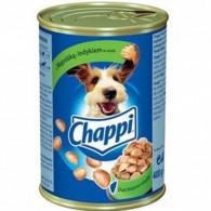Pokarm dla psów z wątróbką i indykiem w sosie