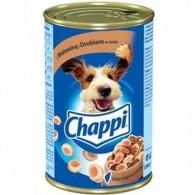 Pokarm dla psów z wołowiną i dorbiem w sosie