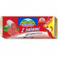 Ser topiony w bloczku Z Salami