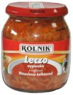 Leczo węgierskie z kiełbasą