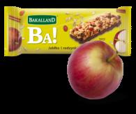 Jabłko i rodzynka