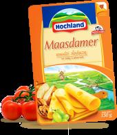 Ser żółty w plastrach Maasdamer
